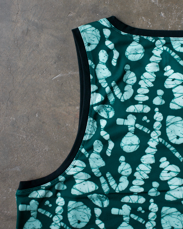 Men's Osei-Duro x the lab Cassava Tank | Pebble Print