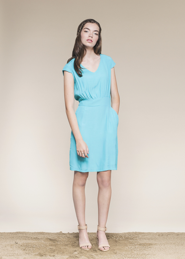 Kojin Dress by Jennifer Glasgow