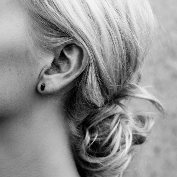 StillWithYou Crystal Silver Earrings