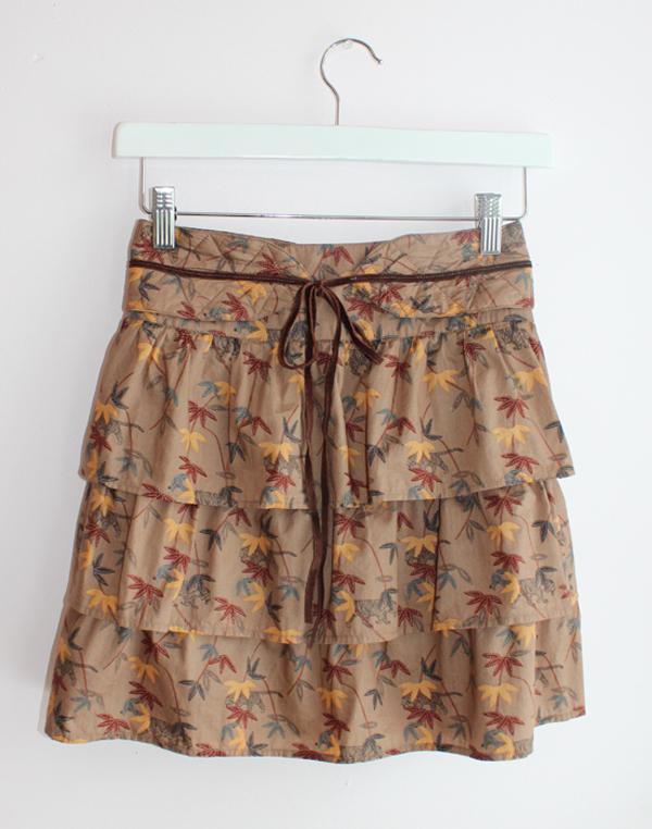 Sessun Safari Ruffle Skirt
