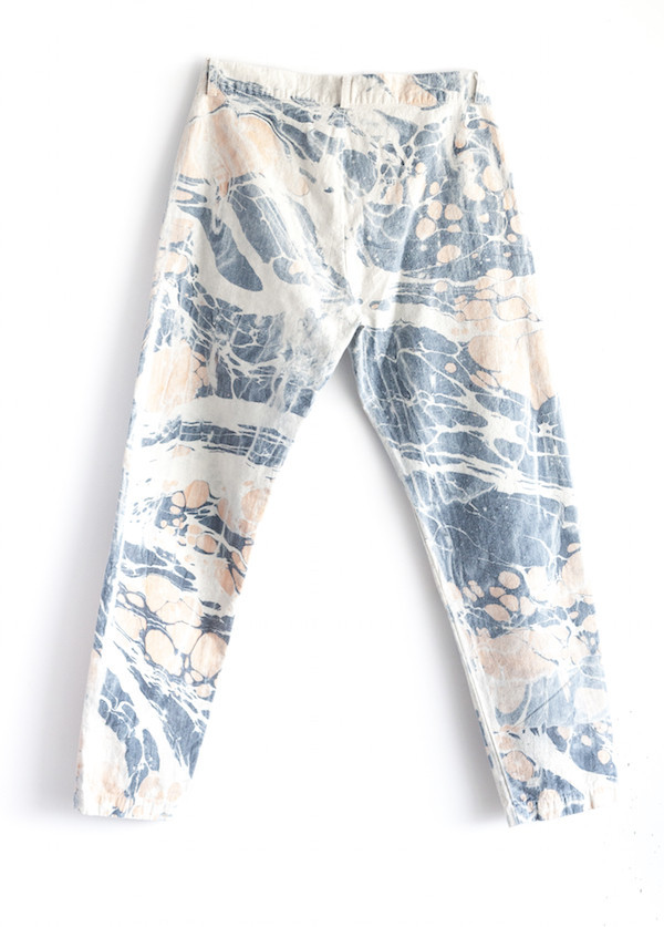 Atelier Delphine - Lyric Pant in Pebble Dye