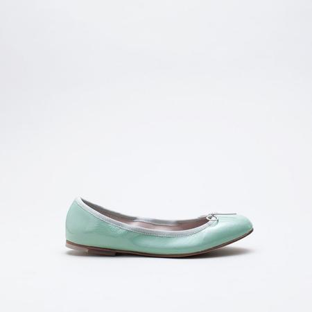 Bloch London Patent Ballerina - Seafoam