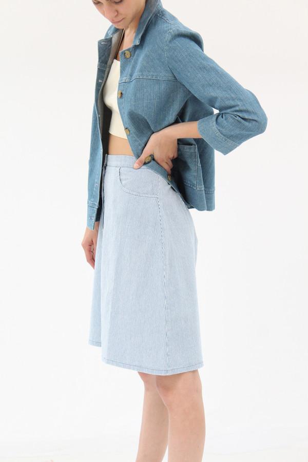 Loup Streep Skirt Stripe