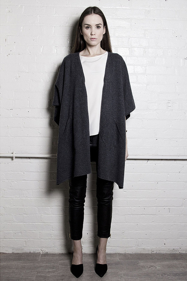 The Knit Poncho