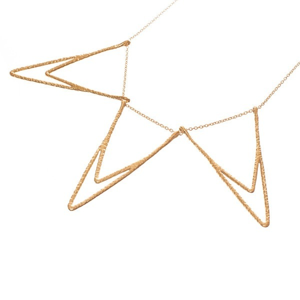 Nettie Kent Iris Triple Necklace