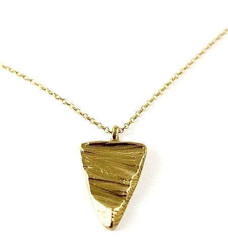 Nettie Kent Slice of Sand pendant