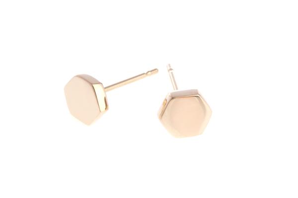 Shahla Karimi Honeycomb Ear Studs