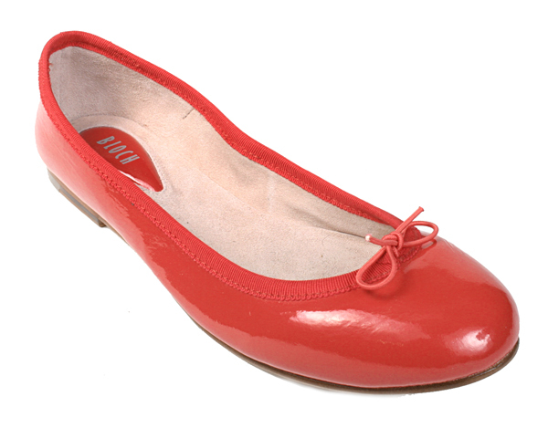 Bloch Patent Ballerina (Red)
