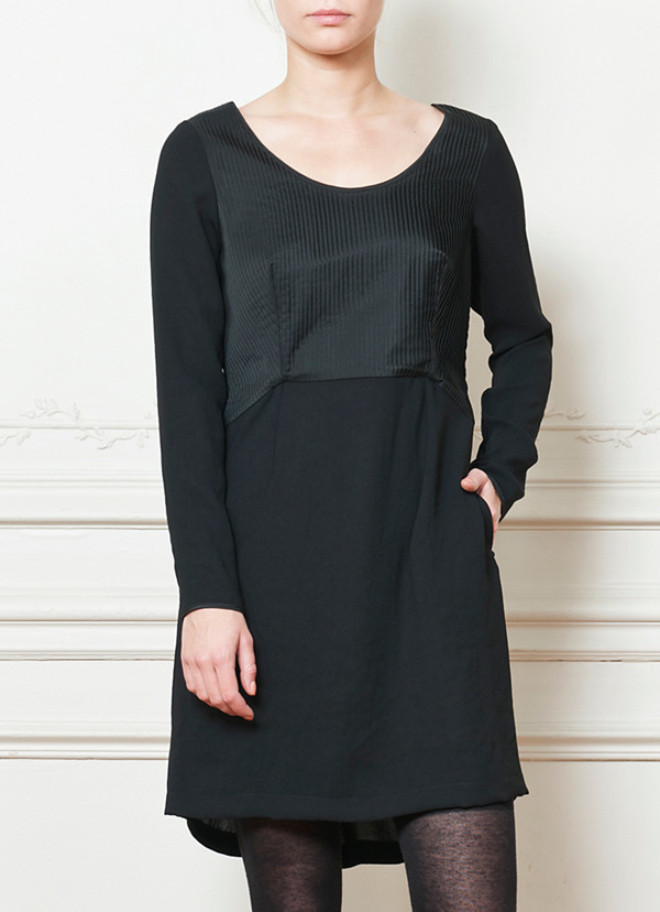 Cotelac Two-Tone Dress