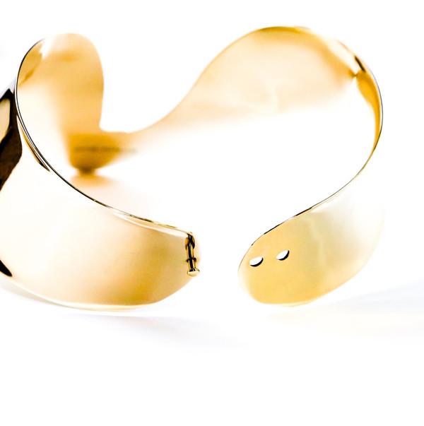 Bisjoux Silver Venus Collar Necklace