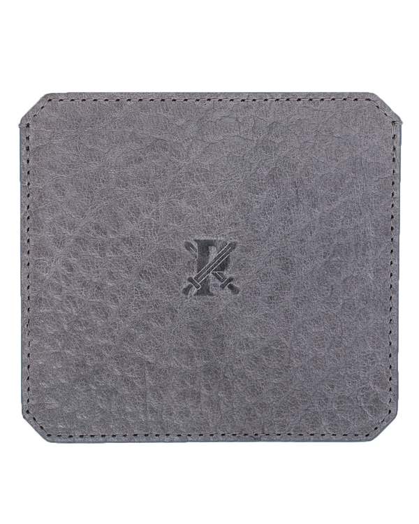 Parabellum 4-Card Wallet in Grey Bison