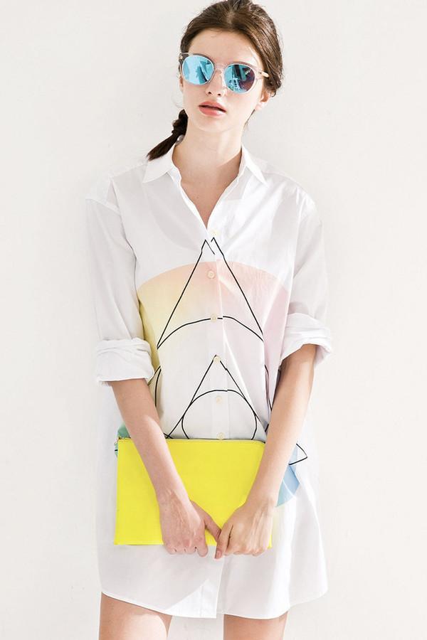 Few Moda Geometric Pattern Shirt