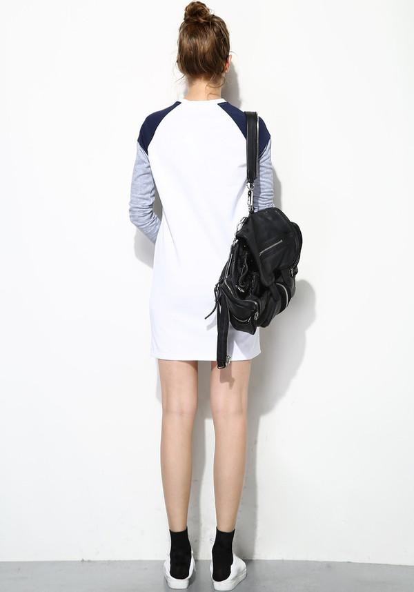 Few Moda Geometric Print Dress