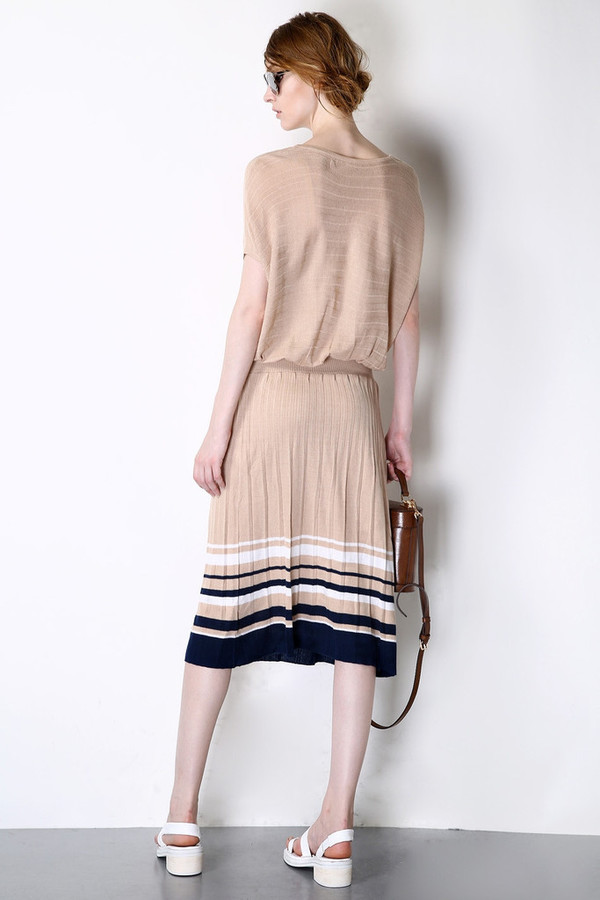 Few Moda Knitted Striped Dress