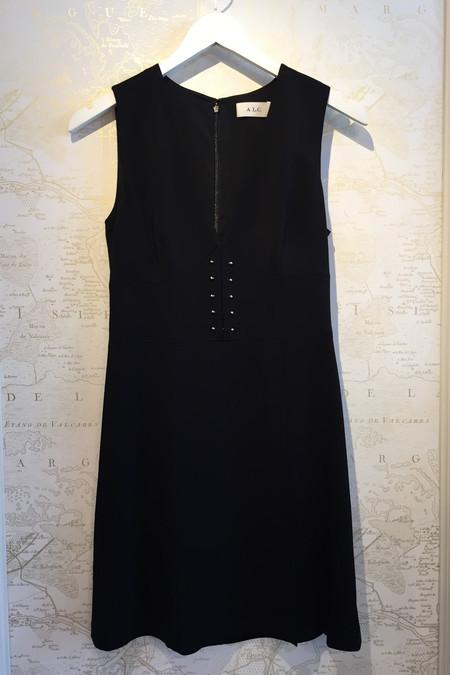 A.L.C. Jacobson V-Neck Flared Dress