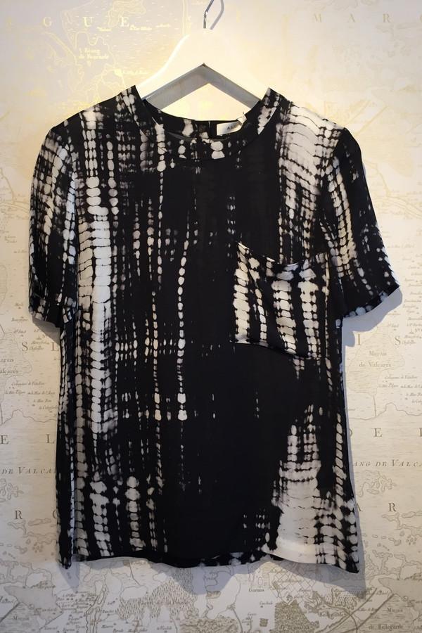 A.L.C. Marlon Tie Dye Print Tee
