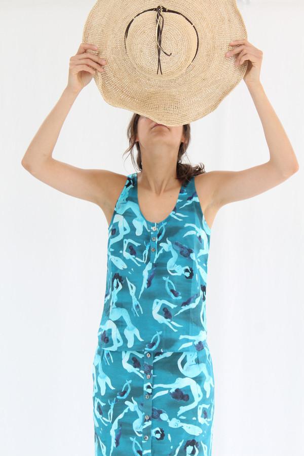 Heinui Sol Top Blue Nudes