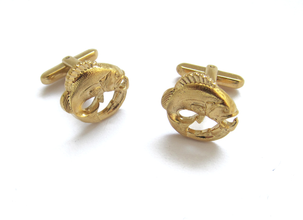 Vintage Collection Fish Cuff Links