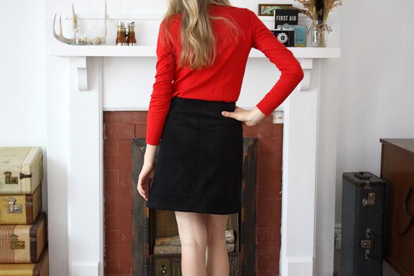 Betina Lou Ivy Skirt | Black
