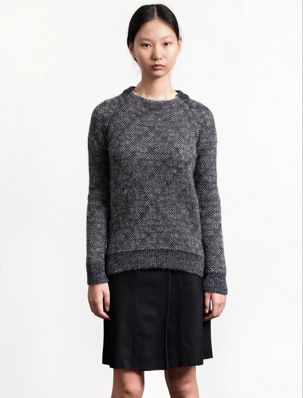 Stephan Schneider Jumper Quote Grey