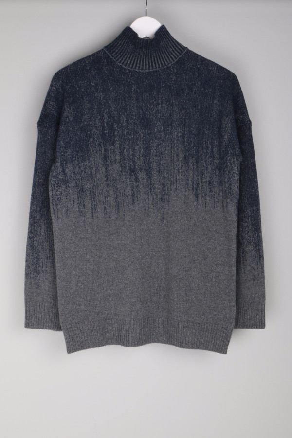 Fine Collection Gradient Sweater