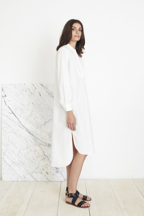 APIECE APART SAMARA SHIRT DRESS