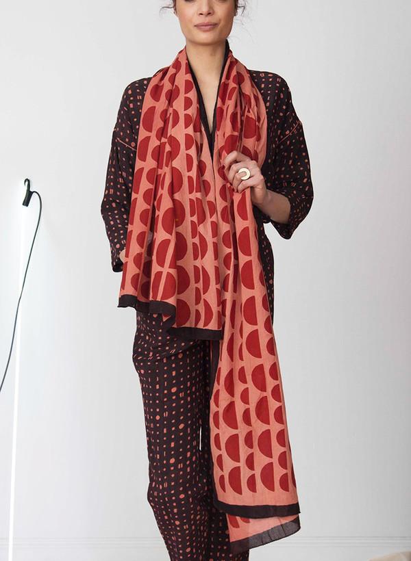 Seek Collective Wayfarer scarf | winter sun