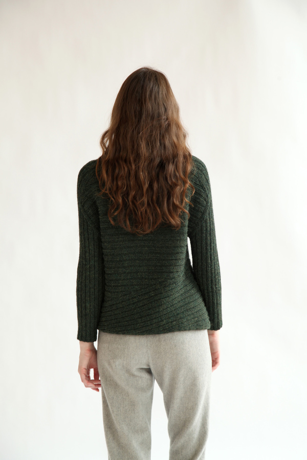 Kordal Carolina Sweater | Moss