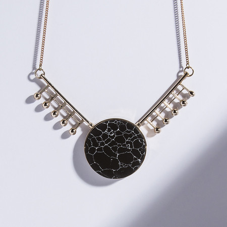 Metalepsis Projects Orbital Necklace | high polished brass