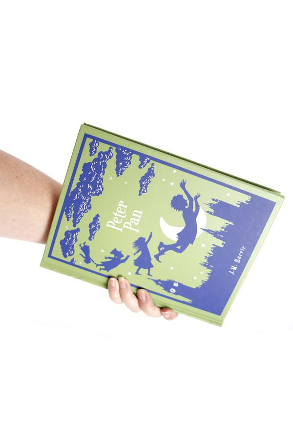 Chick Lit Designs Peter Pan Book Clutch