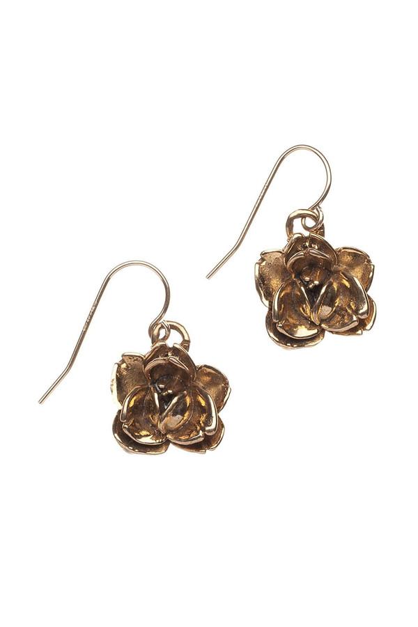 Alicia Marilyn Designs Rose Earrings