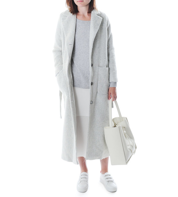 Won Hundred Grey Violet Laura Coat