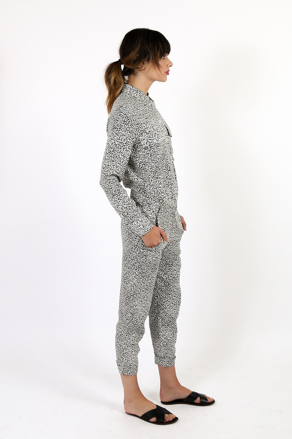 Nanushka Noak Printed Jumpsuit