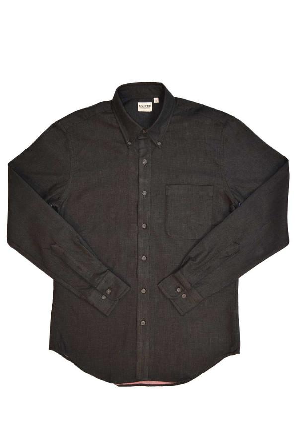 Men's United Stock Dry Goods Pin Dot Shirt