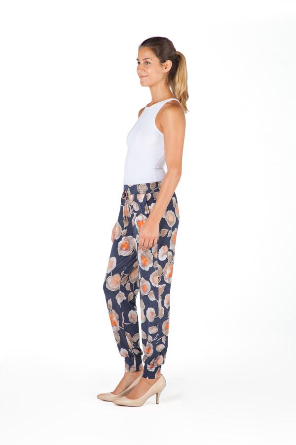 Yoga Jeans Floral Comfort Harem
