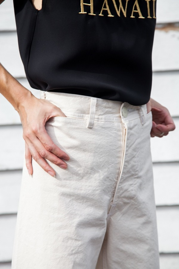Jesse Kamm Sailor Pant - natural
