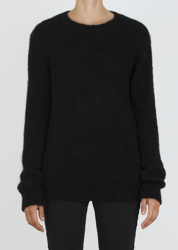 Unisex complexgeometries husk sweater | black