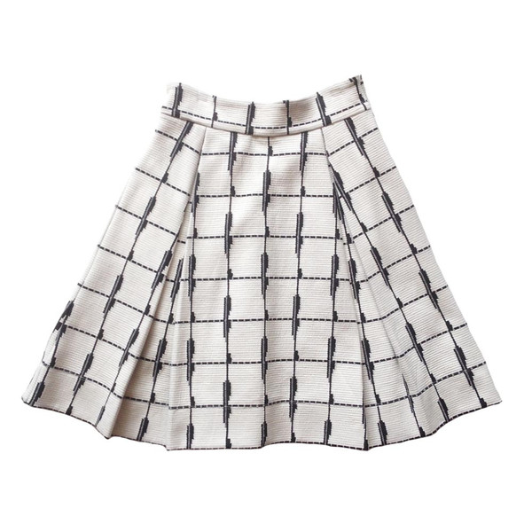 Eve Gravel Duluth Cream Skirt