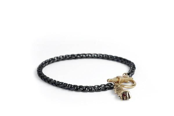 Bling Ring Fist Bracelet
