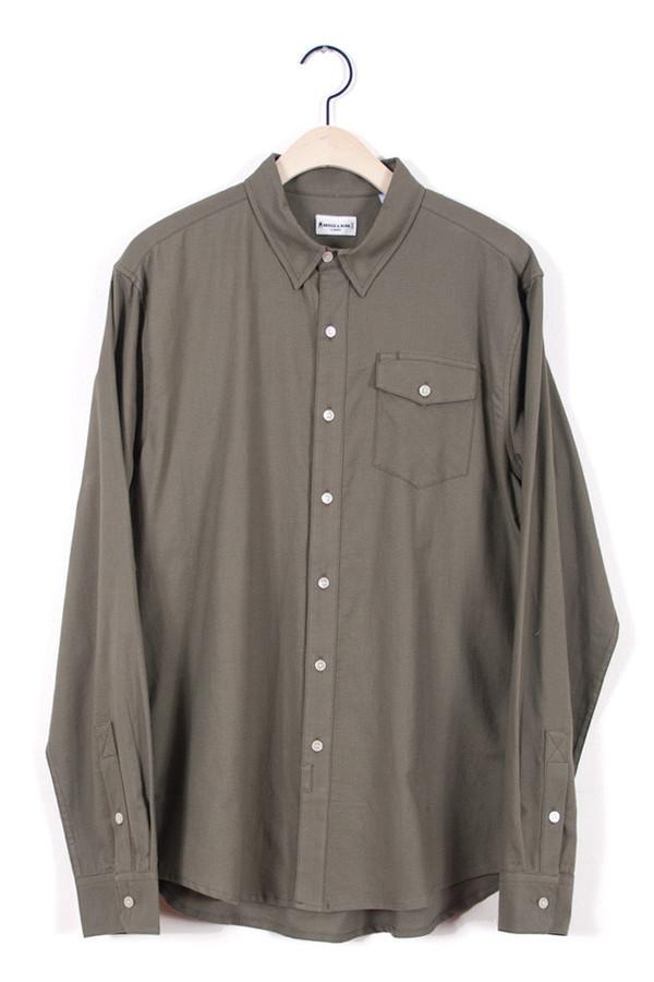 Men's Morrison Olive  Shirt