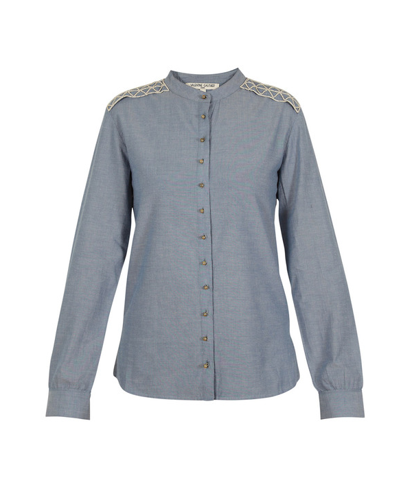 Valentine Gauthier Officer Chambray Shirt