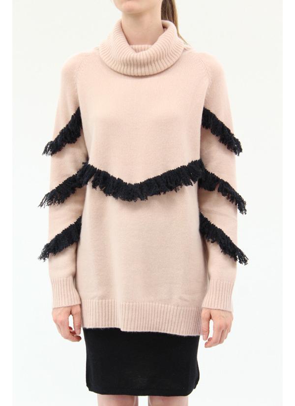 Ryan Roche Cashmere Turtle Neck Sweater