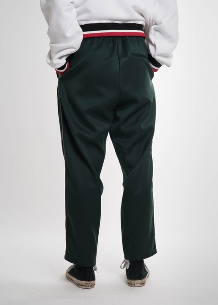 Doublet Dark Green Embroidery Track Pants