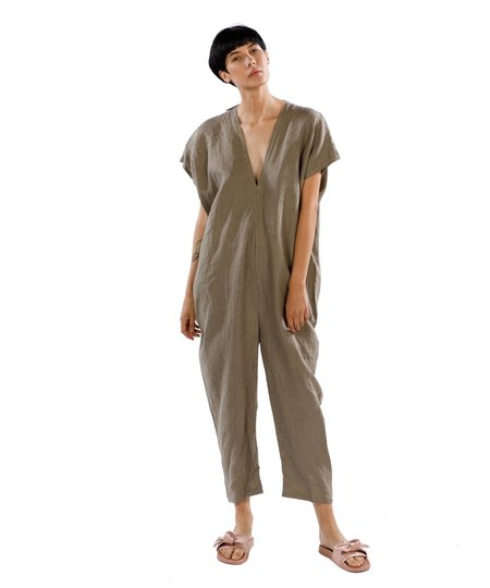 Miranda Bennett Sardinia Everyday Linen Jumpsuit