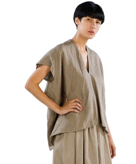 Miranda Bennett Sardinia Everyday Linen Top