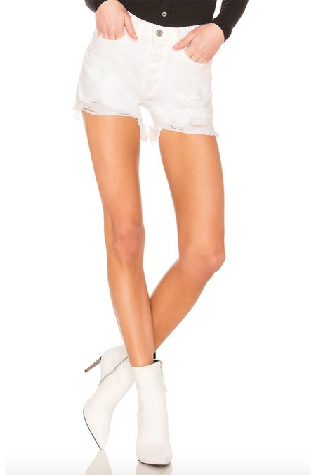 GRLFRND Helena Cut-off Shorts - Pierre