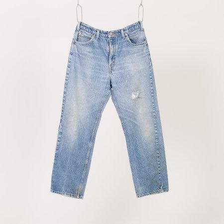 Unis New York Vintage Distressed Levi's 505 Jeans - Blue