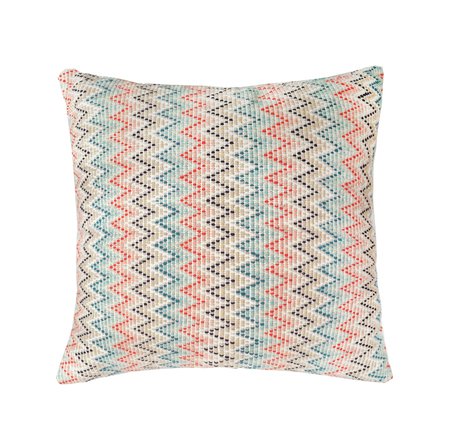 "Archive New York 16""x16"" Nahuala Zig Zag Pillow"