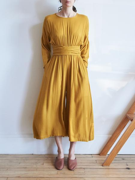 Black Crane Wide Leg Jumper - Honey