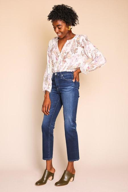 AG Jeans Isabelle Straight Jean in 8 Years Ocean Tropic